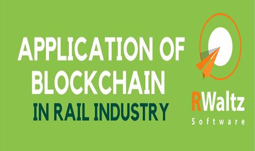 application of blockchain in rail industry
