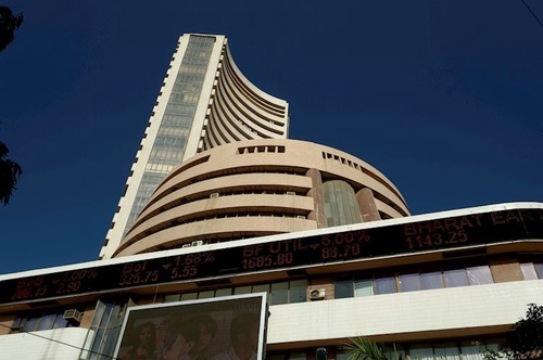 bombay stock exchange building mumbai 48726266 Large